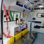 Allestimento Ambulanza Interno