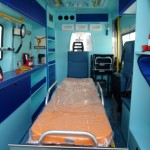 Allestimento Ambulanza Composite Interno